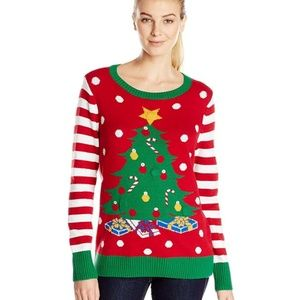 baa9e261292 Ugly Christmas Sweater Women s Motion-Censored S